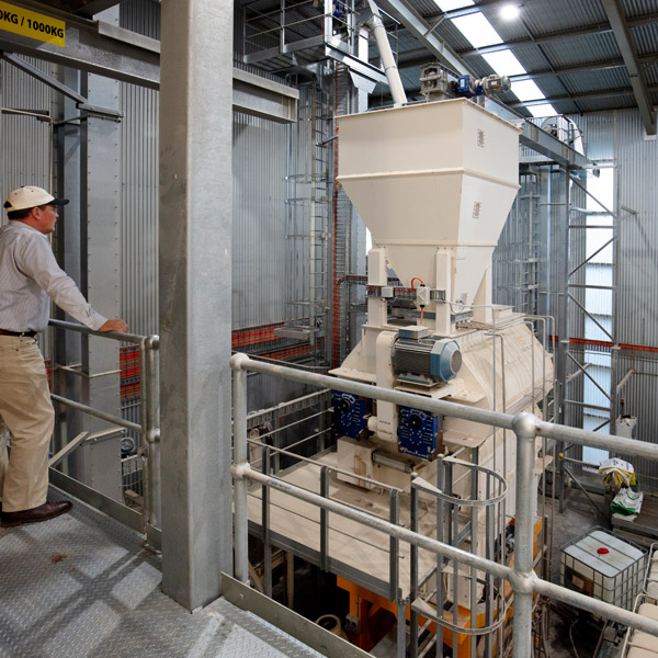 Aus Organic Feeds State of the Art Feed Mill