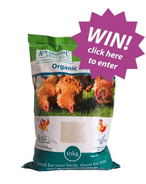 Win a 10kg bag or our Layer Pellets